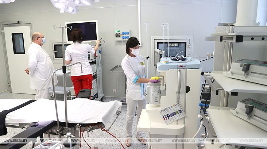 Операционный блок Гомельской городской больницы №3 открылся после модернизации