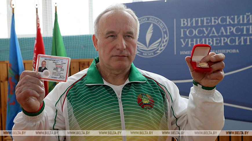 Шерстнев стал мастером гиревого спорта международного класса
