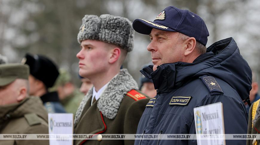 Соревнования среди сотрудников силовых структур прошли в Минске