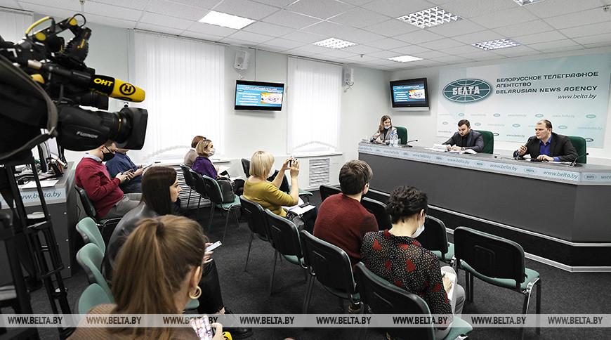 Пресс-конференция о перспективах индивидуального жилищного строительства прошла в БЕЛТА