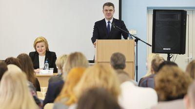 Кухарев встретился со студентами БГУ
