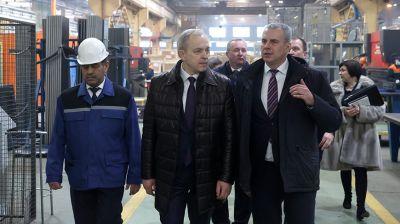 """Сергеенко посетил ОАО """"Могилевлифтмаш"""""""