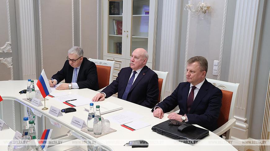 Госсекретарь Совбеза Беларуси и посол России обсудили тему международной безопасности