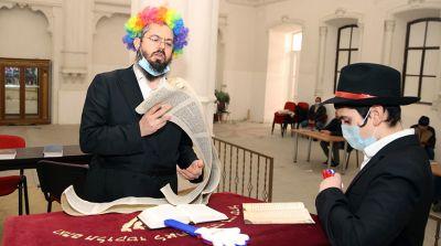 Иудеи всего мира отмечают Пурим