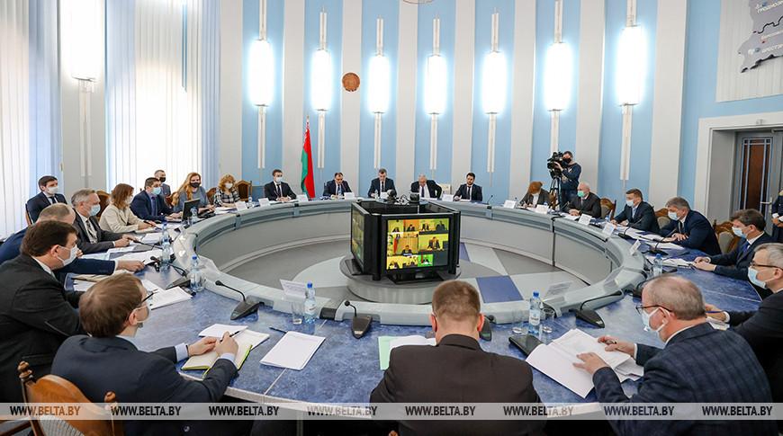 Заседание коллегии Минэнерго прошло в Минске