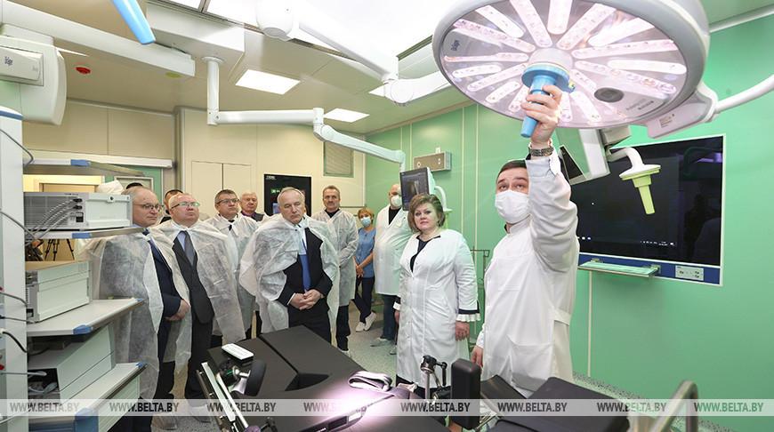 В Витебске открыли обновленный хирургический корпус областного онкодиспансера
