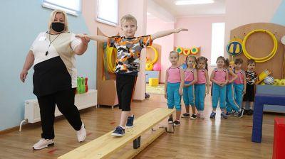 Новый детский сад открыли в молодом районе Гродно