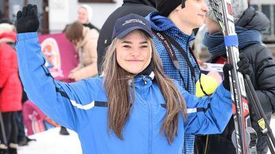 """На лыжероллерной трассе в Минске прошла """"Всебелорусская студенческая лыжня - 2021"""""""
