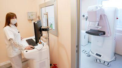 Маммографический кабинет откроется в 32-й поликлинике Минска