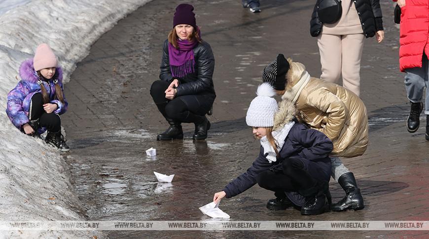 До +11°С ожидается в Беларуси на этой неделе