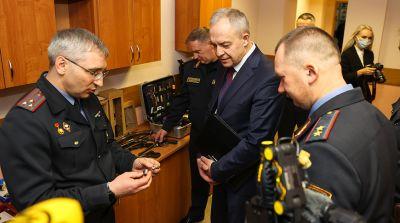 Сергеенко посетил Академию МВД