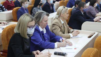 Бельский провел выездной личный прием граждан в Белорусской государственной сельскохозяйственной академи