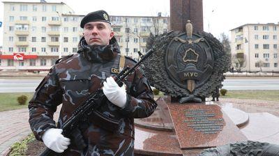 В Витебске прошли торжества ко Дню белорусской милиции