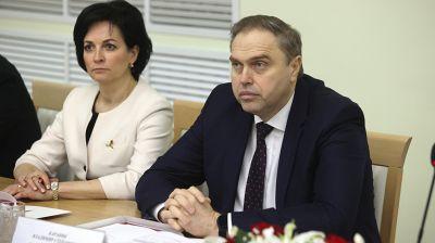 Пиневич и Караник приняли участие в расширенном заседании Совета Гродненского медуниверситета