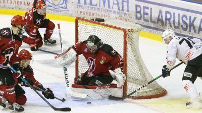 """""""Неман"""" на своем льду обыграл """"Гомель""""со счетом 3:1 и сравнял счет в плей-офф чемпионата Беларуси по хоккею"""