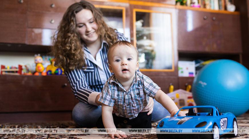 Макар Полочанин - первый белорус, родившийся у заболевшей COVID-19 мамы