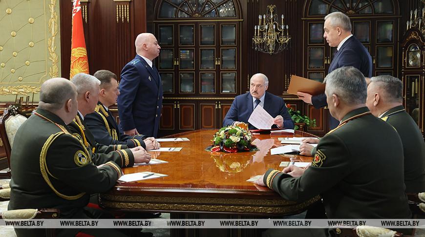Лукашенко произвел назначения в руководстве Вооруженных Сил