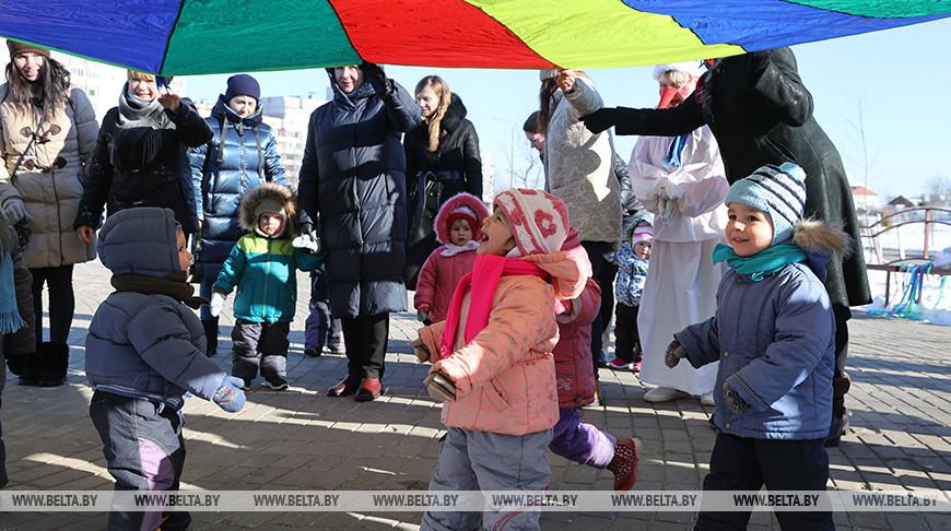 Масленица прошла в Витебском областном специализированном доме ребенка