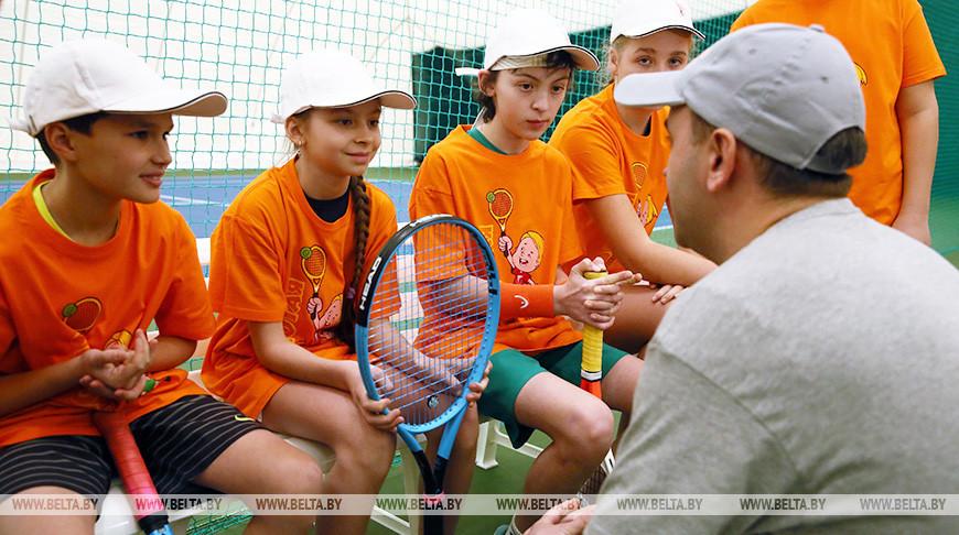Центр тенниса с крытыми кортами открылся в Гродно