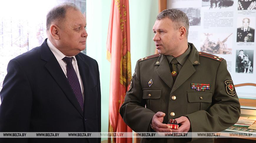 Церемония вручения ордена представителям посольства Узбекистана в Беларуси прошла в Гродненской области