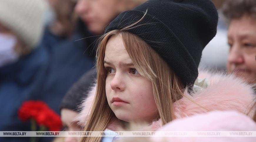 Митинг-реквием в память о сожженной в годы ВОВ деревне Шауличи прошел в Волковысском районе
