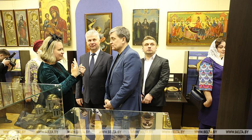 Мемориальный кабинет митрополита Филарета открыли в Минске