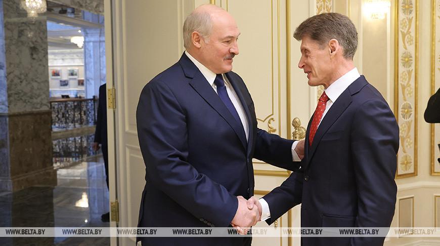 Лукашенко встретился с губернатором Приморского края