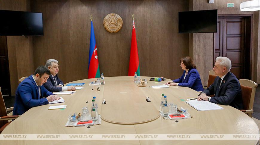 Кочанова встретилась с послом Азербайджана
