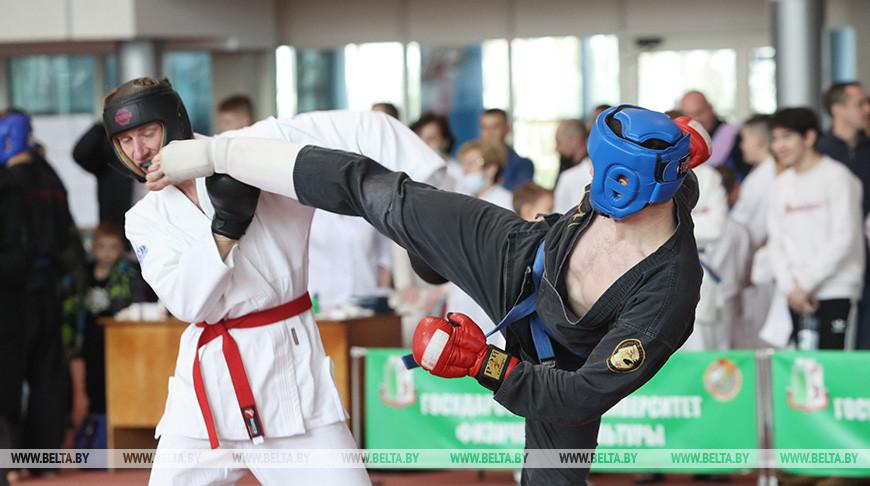 Турнир по рукопашному бою проходит в Минске