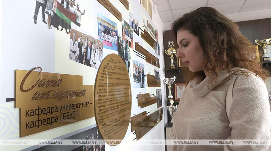 Мемориальный кабинет Виктора Барташа открыли в БГУФК