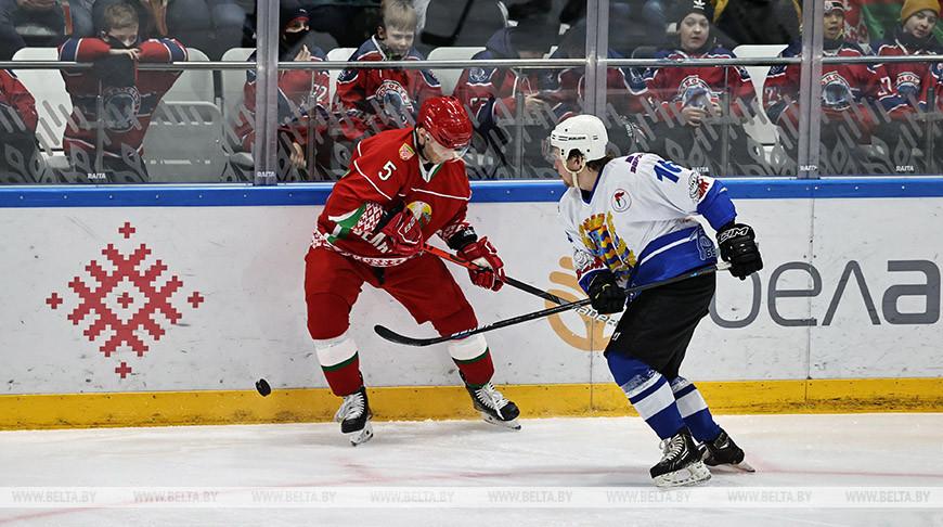Хоккейная команда Президента вышла в финал любительского турнира