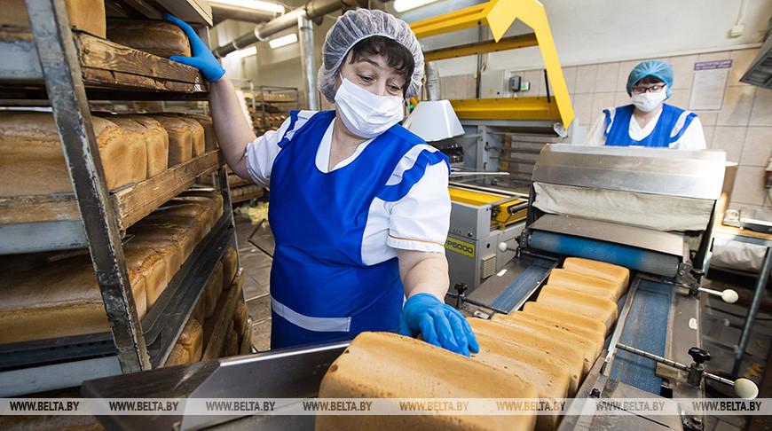 18 т готовой продукции в сутки выпускает Кобринский хлебозавод