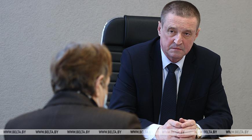 Председатель Могилевского облисполкома провел личный прием граждан в Мстиславле