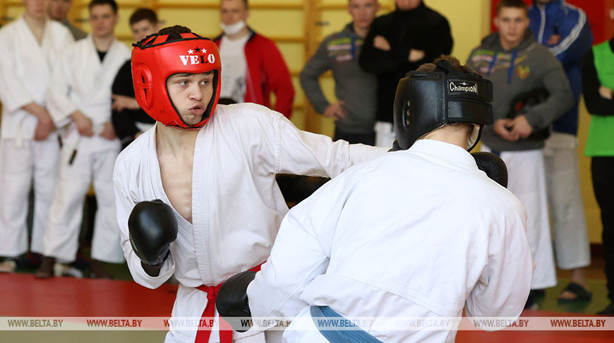 Чемпионат МВД по рукопашному бою проходит в Могилеве