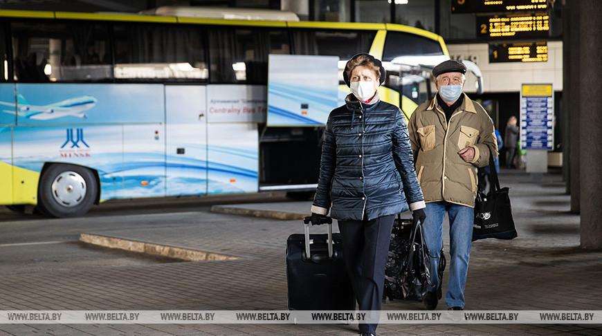 """Санэпидслужба и """"Минсктранс"""" проверяют соблюдение масочного режима"""