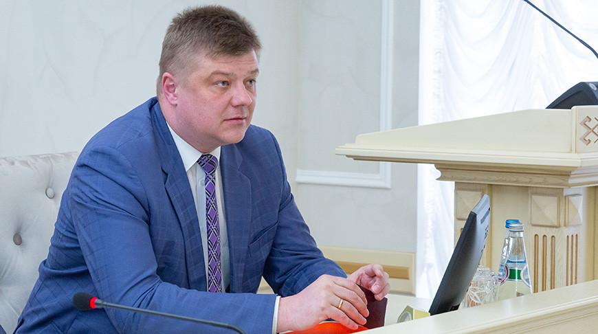 Николай Рогащук представлен в должности помощника Президента - инспектора по Гомельской области