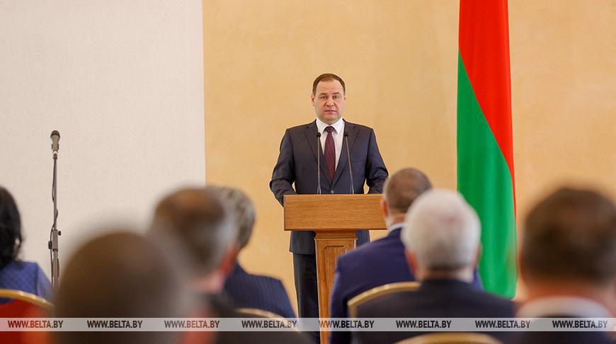 Головченко вручил госнаграды 45 представителям различных сфер