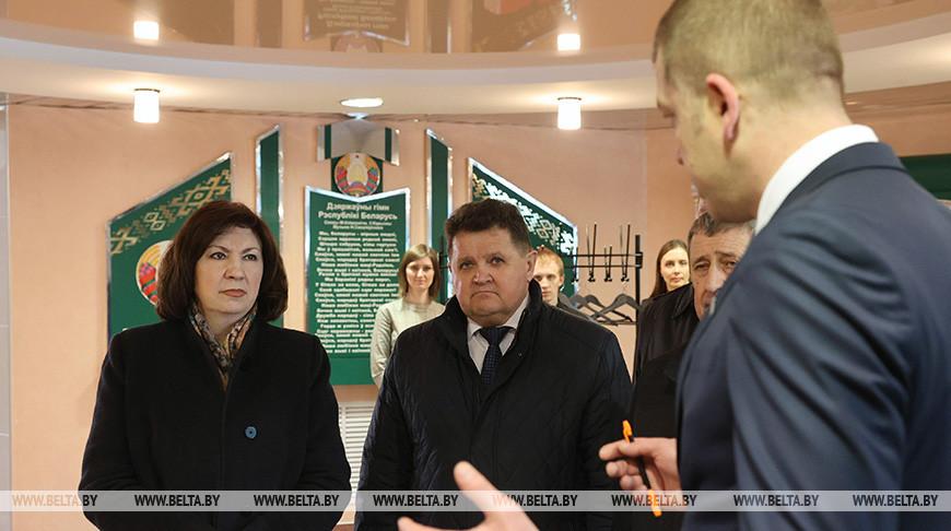 Кочанова посетила Полоцкий молочный комбинат