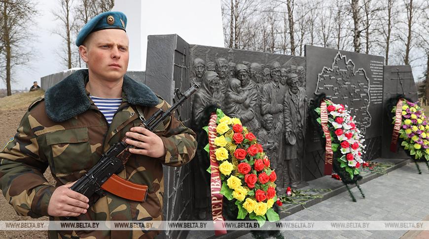 Памятный знак узникам концлагерей открыли в Витебске