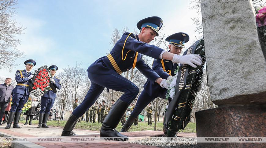 В Бресте почтили память жертв фашистских концлагерей