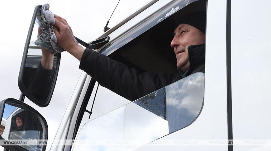 """Водитель Валерий Щербич награжден медалью """"За трудовые заслуги"""""""