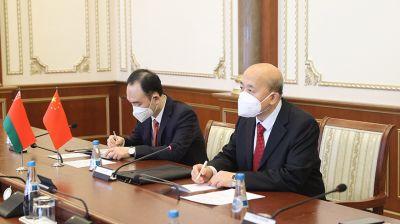 Андрейченко встретился с Чрезвычайным и Полномочным Послом Китайской Народной Республики в Беларуси