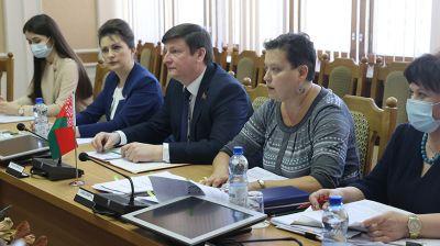 Депутаты Палаты представителей встретились с делегацией представительства Детского фонда ООН в Беларуси