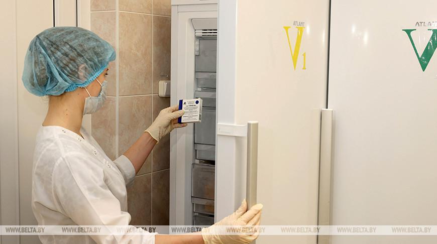 В Витебской области от COVID-19 вакцинировались более 13 тыс. человек