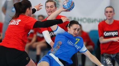 Женская сборная Беларуси по гандболу провела товарищеские матчи против Украины