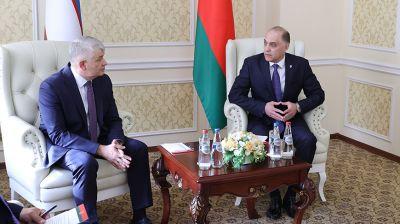 Беларусь и Узбекистан расширяют взаимодействие в сфере безопасности