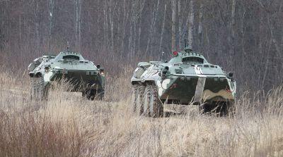 В Витебском районе соревнования военнослужащих сил спецопераций собрали 12 экипажей БТР