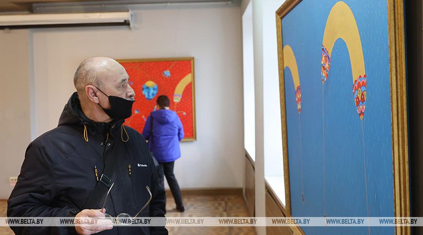 Выставка эстонских художников открылась в Витебске