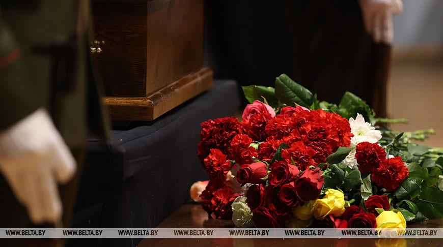 Церемония прощания с Леонидом Борткевичем проходит в Минске