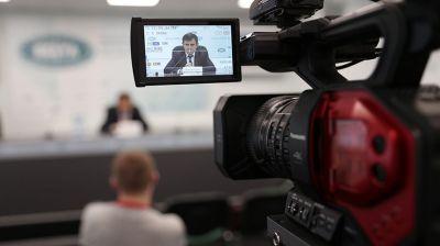 Пресс-конференция о вступительной кампании прошла в пресс-центре БЕЛТА